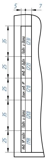 Форматы и основная надпись чертежа